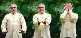 Dr Oskar Salazar practicando Qi Gong Chi Kung